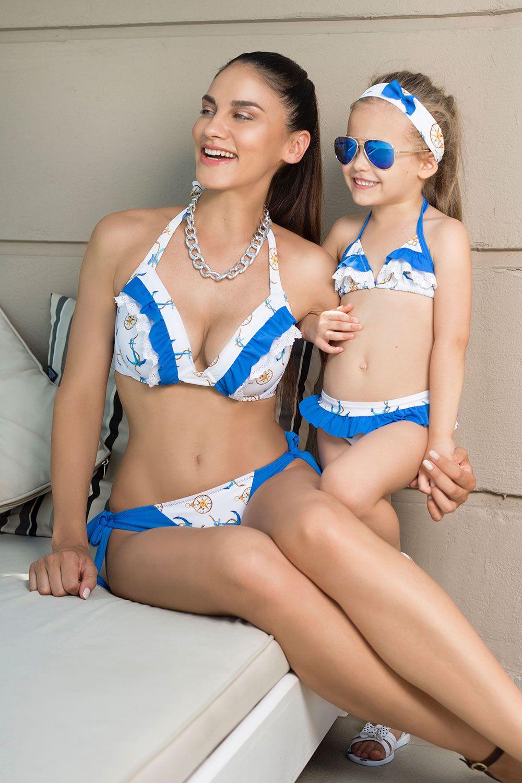 Girls bikini with froufrou - Helen Lingerie 5313f72cc59