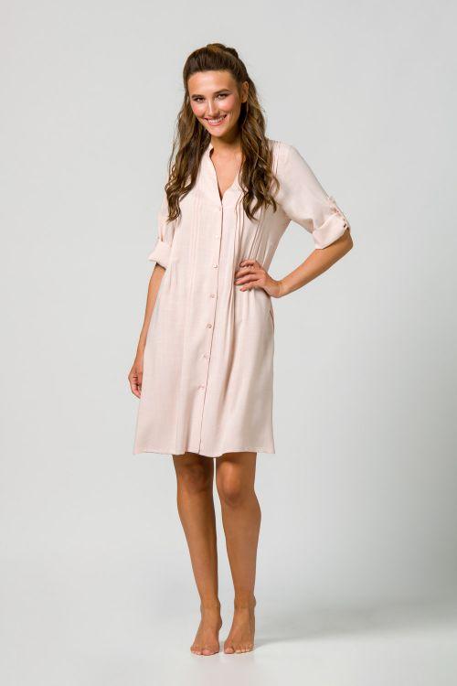 Φόρεμα γυναικείο με άνετη γραμμή 100% Βισκόζι