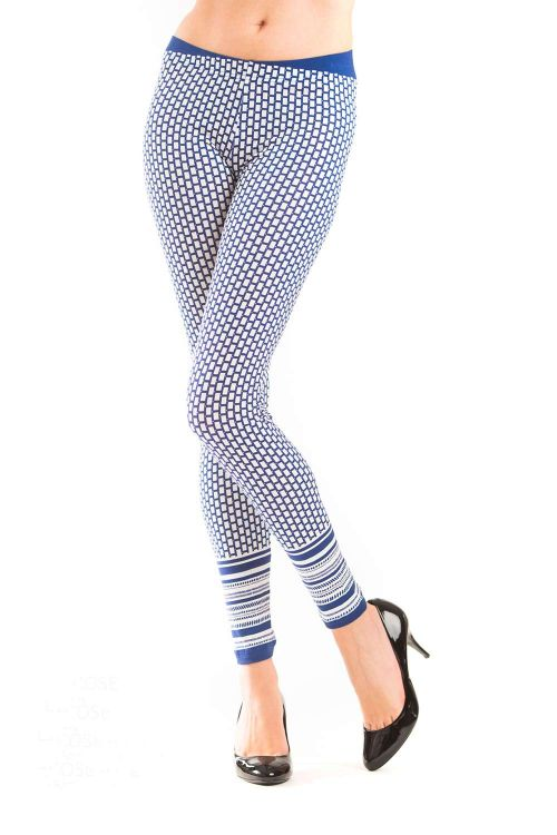 c6d212df8a2ee Yoga leggings with shiny and melane fabric - Helen Lingerie