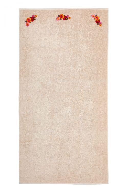 Πετσετα θαλασσης XL 90Χ180 εκ με διακοσμητικα κεντημένα μοτιφ.