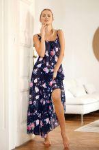 Φορεμα θαλάσσης με πανέμορφο εμπριμέ φλοράλ σχέδιο